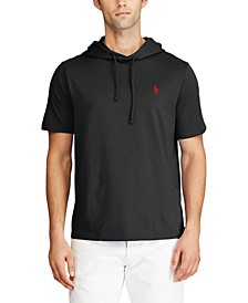폴로 랄프로렌 Polo Ralph Lauren Mens Cotton Jersey Hooded T-Shirt,Polo Black
