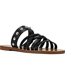 Colby Strapped Studded Sandals