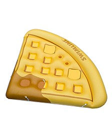 Inflatable Waffle Slice Floating Lounger Raft Mat for Swimming Pool