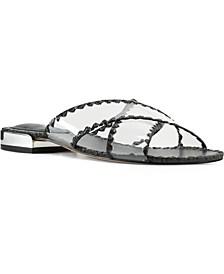 Ieni Women's Flat Slide Sandals