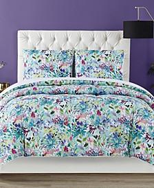 Dahlia 3 Piece Comforter Set, King