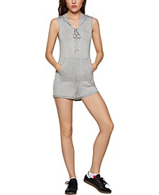 French Terry Hoodie Romper