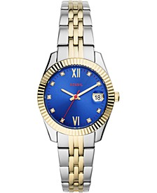 Women's Scarlette Mini Two-Tone Stainless Steel Bracelet Watch 32mm