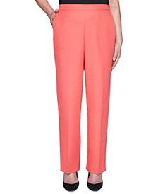 Petite Look On The Bright Side Pull-On Pants