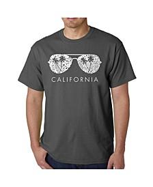 Men's Word Art - California Shades T-Shirt