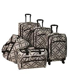 Clover 5 Piece Spinner Luggage Set