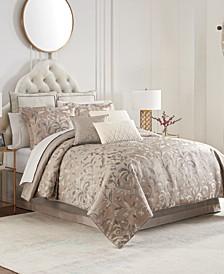 Andria Reversible 4 Piece Comforter Set, Queen