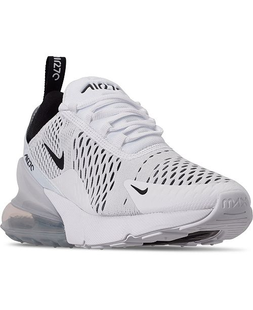 Nike Women S Air Max 270 Casual Sneakers From Finish Line Reviews Finish Line Athletic Sneakers Shoes Macy S