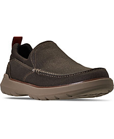 Skechers Men's Relaxed Fit Doveno Hangout Slip-on Casual Sneakers from Finish Line