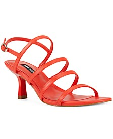 Smooth Strappy Dress Sandals