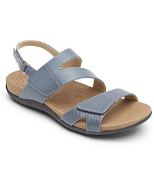 Women's Ridge Adjustable Asymmetrical Sandals