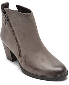 Women's Maddie Ankle-Zip Booties