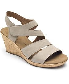 Women's Briah Strappy Wedge Sandals