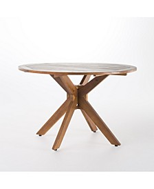 Stamford Outdoor Round Dining Table