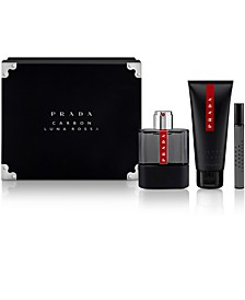 Men's 3-Pc. Luna Rossa Carbon Gift Set