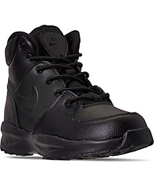 Little Boys Manoa Leather Boots from Finish Line