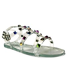 Little Girls Strappy Flat Sandal
