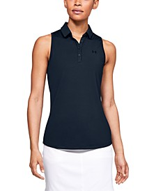 Women's UA Zinger Sleeveless Golf Polo