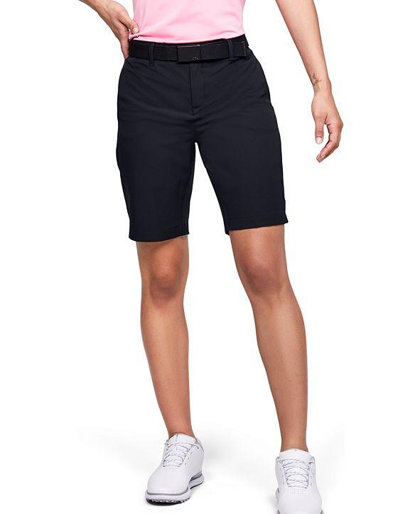 Under Armour Women's Links Storm Golf Shorts