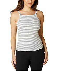 Juniors' Square-Neck Tank Top