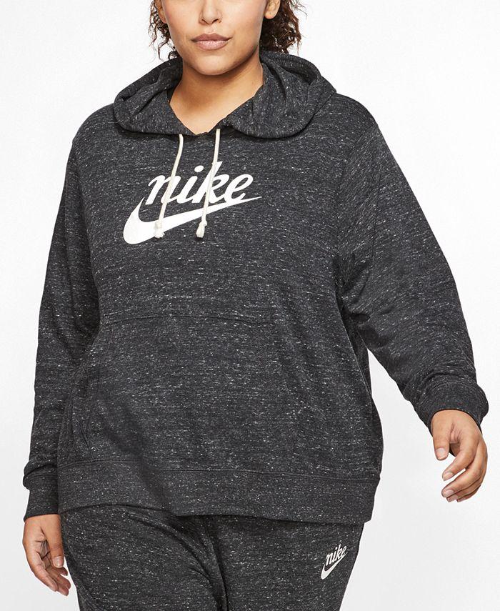 Nike - Plus Size Gym Vintage Hoodie