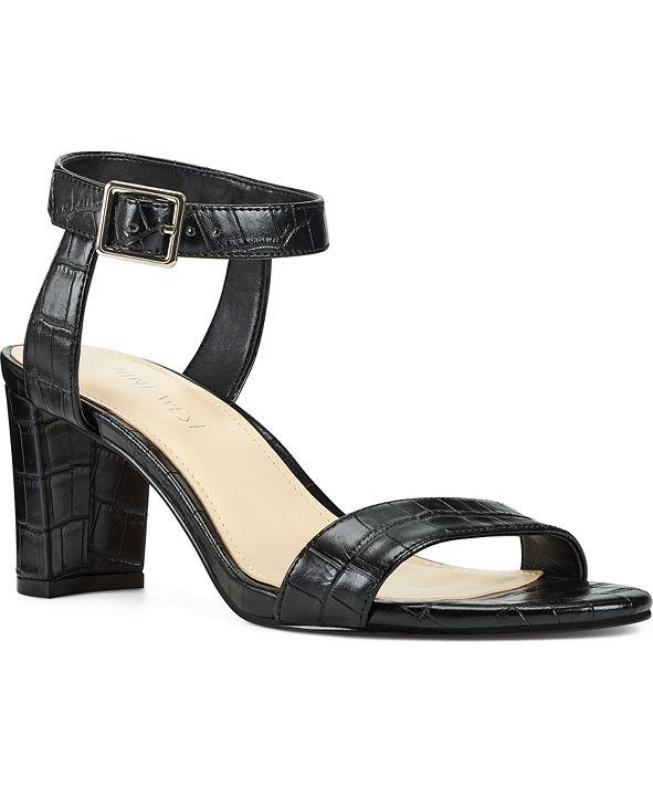 Nine West Pixel City Block-Heel Sandals