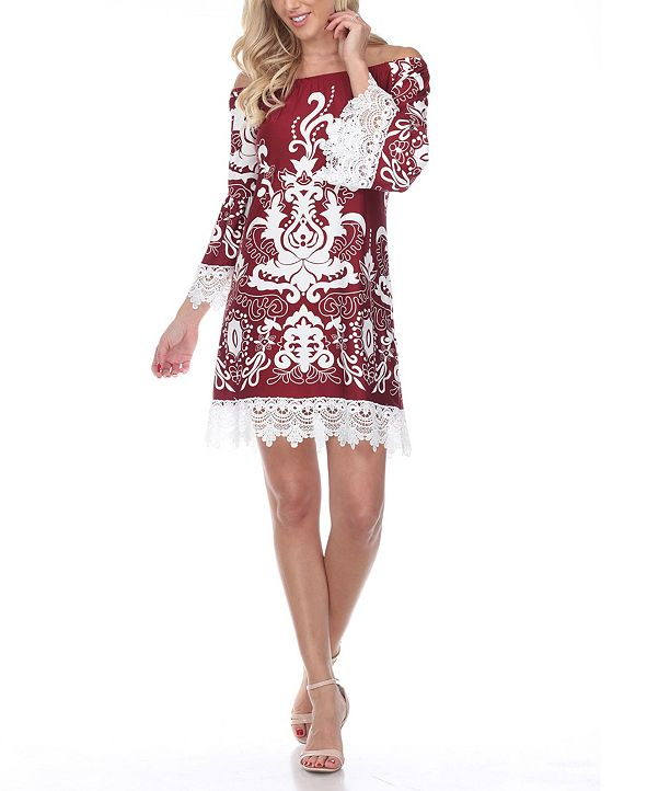 White Mark Women's Uniss Dress