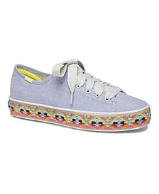 Women's Triple Kick Summer Foxing Sneaker