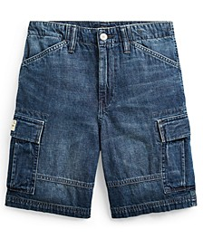 Big Boys Denim Cargo Shorts