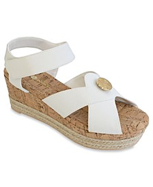 Giselle Platform Wedge Sandal