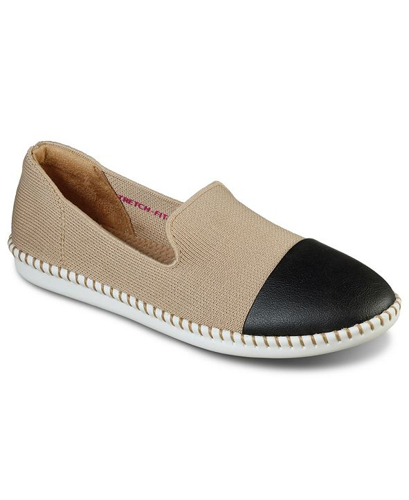 Skechers Women's Cleo Stitch Casual Flats from Finish Line