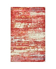 Creation CRE04 Pink 6' x 9' Area Rug