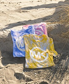 Plus Size Tie Dyed Logo T-Shirt