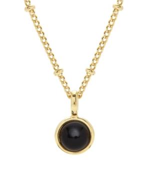 Nola Gemstone Pendant -Onyx