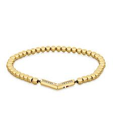 Tommy Hilfiger Women's Gold-Tone Bead Bracelet