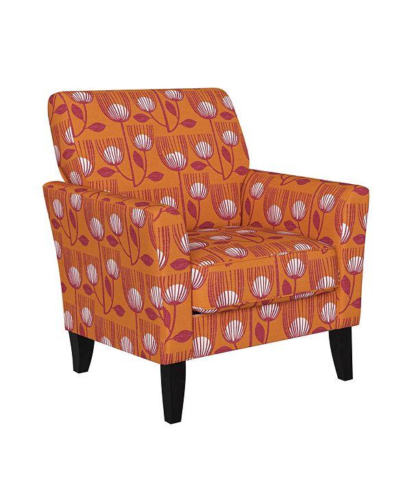 Handy Living Adrian Flared Arm Chair