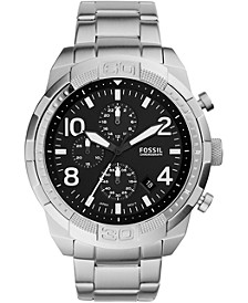 Men's Chronograph FB-03 Stainless Steel Bracelet Watch 50mm
