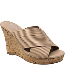 Linger Platform Wedge Sandals