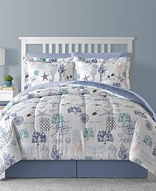 Fairfield Square Bluffton 8Pc Comforter Set