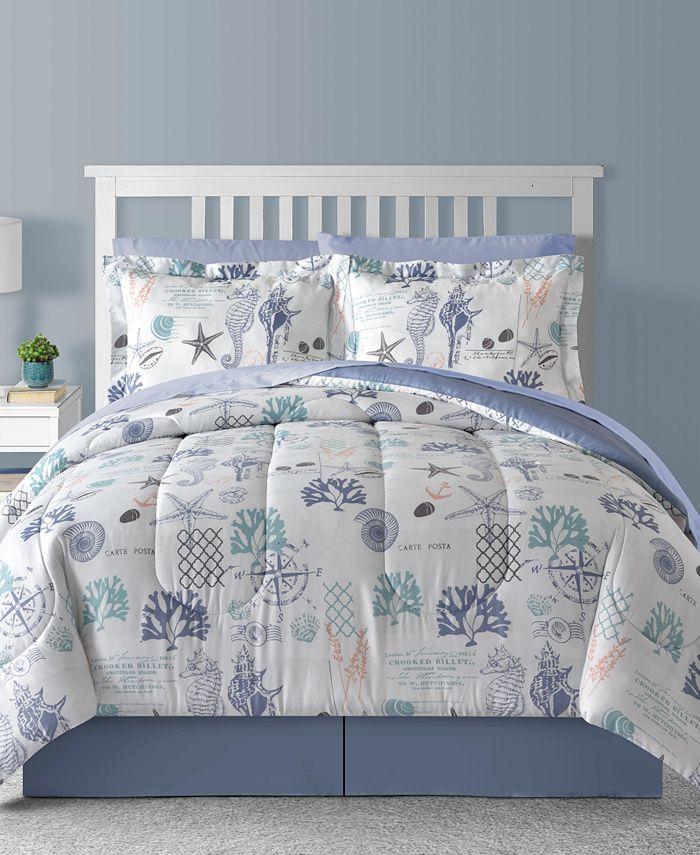 Sunham - Bluffton 8Pc California King Comforter Set