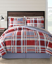 Fairfield Square Freta Multi 8Pc Full Comforter Set