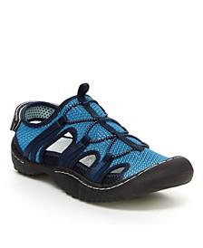 Sport Thunder Women's Outdoor Casual Slip On Sandal