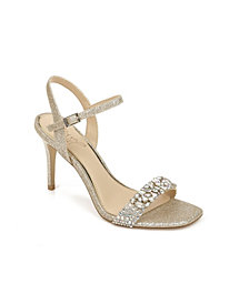 Jewel Badgley Mischka Natasha Evening Dress Sandal