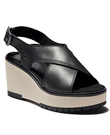 Koralyn 2 Band Wedge Sandal