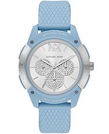 Ryder Three-Hand Blue Silicone Watch