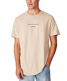 Longline Scoop Hem T-Shirt