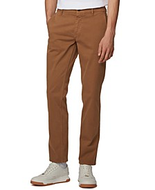 BOSS Men's Schino Regular Open Beige Pants