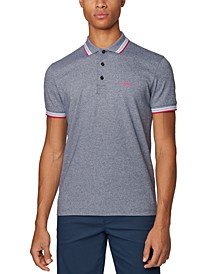 BOSS Men's Paddy Navy Polo Shirt