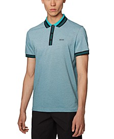 BOSS Men's Paddy 2 Black Polo Shirt