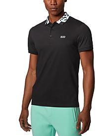 BOSS Men's Paule 2 Black Polo Shirt